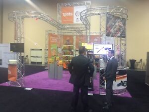 30x30 Trade Show Booth Truss