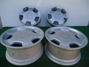 Set Of 4 Factory Mercedes D93 Lorinser Staggered Front 18 x8 Rear 18 x9 Oem