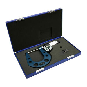 Electronic Disc Brake Rotor 0 3 1 3 Micrometer W Rs232 Port Pc Connection