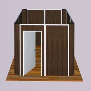 Multi color Sunwalls Modular Walls 4 Walled square Rounded Upgrade 10x10