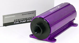 Purple Efi External Inline Electric Fuel Pump 700 Hp 45 Psi By Obx Racing Sports