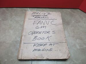 Fanuc Takisawa Mac v2 Operators Operation Manual 6m V2 v3 Cnc