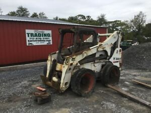 2012 Bobcat S850 Skid Steer Loader W Joysticks 2speed High Flow