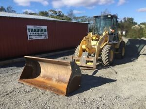2005 New Holland Lw80b Wheel Loader W Cab Bucket Forks Coming Soon