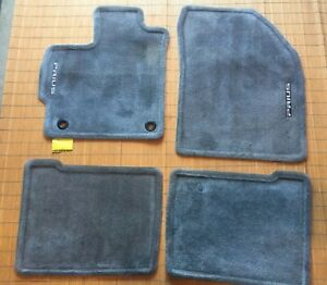 2012 2015 Toyota Prius Light Gray Carpet Floor Mats Rugs Oem 12 13 14 15