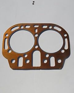 Vintage Nos John Deere Two Cylinder Head Gasket Bore About 4 3 4