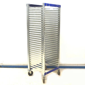 Bliss Industries 22 3 8 X 20 3 8 X 65 3 4 Esd Safe Mobile 30 Space Tray Cart