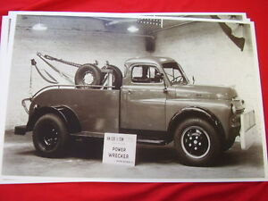 1949 Dodge Tow Truck 11 X 17 Photo Picture