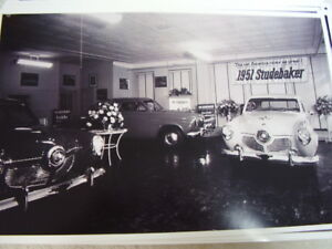 1951 Studebaker Showroom With Cars 11 X 17 Photo Picture