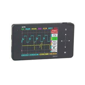 Ds202 Oscilloscope Lcd Touch Digital Storage 2 channel Pocket sized Minidso