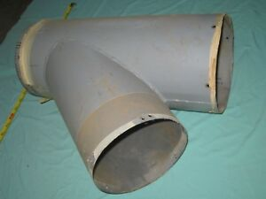 Dust Collector T Or W Branch Murphy Rodger Heavy 7 Steel 53g4