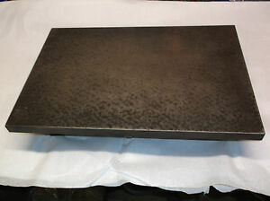 Cast Iron Machinist Inspection Surface Plate For Bench Table Top 12 X 18 X 4