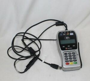 First Data Fd 35 Pin Pad point Of Sale Pos Credit Debit Card Terminal Reader