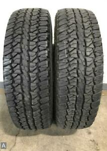 1x P245 70r17 Firestone Destination At 12 32nds Used Tire