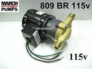 March 809 Br 115v Hot Water Pump 0809 0064 0100