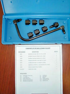 Diesel Injector Nozzle Pop Tester Connector Set