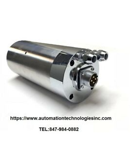 1500w 2hp Water Cooled Cnc Milling Spindle 110v 4bearing er11 usa Stock