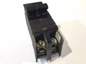 Tested Square D Cutler Hammer Wide Xo 30 Amp 2 Pole 120 240 Vac Circuit Breaker