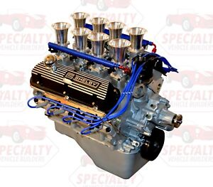 Small Block Ford 408 475 Hp Crate Engine W Hilborn Style Fuel Injection Efi