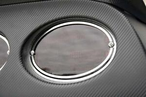 Tail Light Trim Rings 97 04 Chevy Corvette C5 Stainless Steel Polished