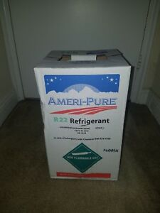 R22 Refrigerant 30 Lb New Sealed Free Shipping