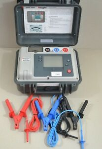 Megger Mit510 2 5 Kv High Voltage Insulation Resistance Tester Mit 510 Mit510