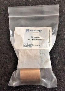 New Bridgeport Milling Machine Nut Y axis Hardinge Part 12060631