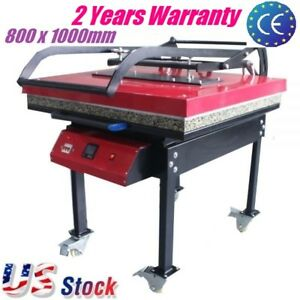 7kw T shirt Heat Press Machine Large Format Sublimation Heat Transfer 800x1000mm