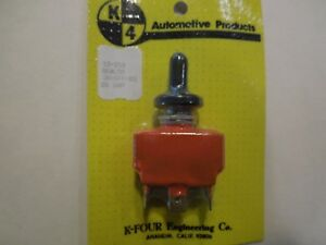 K four k4 Off On Start Momentary Sealed Ignition Toggle Switch 13 221