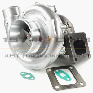 Universal T4 A r 0 80 0 81 Turbocharger Oil Cooled T4 Flange 3 V band 800hp