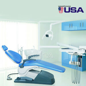 Dental Chair Leather Computer Controlled Unit Handpiece Scaler Dentist Usa Ship
