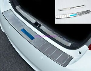 Inside Outside Rear Bumper Protector Guard Trim For Toyota Vios 2014 2018