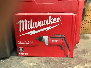 Milwaukee 6780 20 Screw Gun 0 2 500 Rpm 6 5 Amp New In Original Opened Box