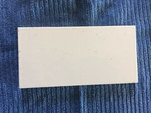 1 Vintage Robertson Subway Tile 6 X 3 White Circa 1920s Boston Home