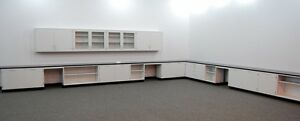 Fisher 41 Lab Cabinets Casework W 16 Wall Units Tops L016