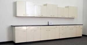 Laboratory Lab Cabinets Casework 15 Base 14 Wall Used