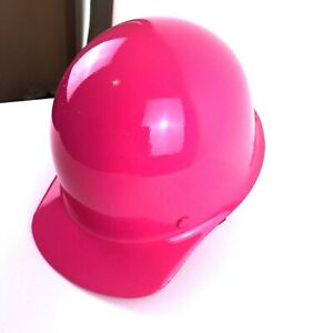Msa Skullgard Small Size Cap Style Hard Hats With Ratchet Suspension Hot Pink