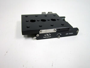Newport 433 Low Profile Linear Motion X Stage No Micrometer