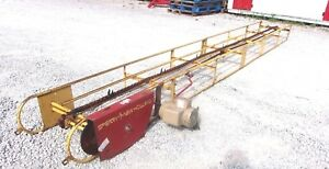 Used New Holland 16 Ft Square Bale Elevator With Electric Motor we Ship Cheap