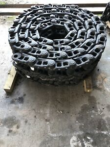 Pc300 6 Pc300 5 Pc250 Komatsu Track Chain Assembly 48 Link Pc300 Pc250