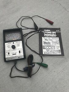 Check It Out Vintage Dixco Tune Up Engine Analyzer 1958 Model