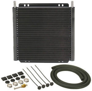 Derale Plate Fin Trans Cooler Kit 11 32in P n 13504