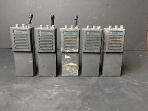 Motorola Mt500 Uhf Lot Of 5 Ghostbusters Cos Play Halloween Costume Accessory