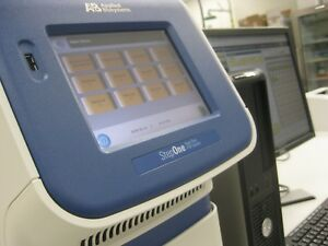 Abi Stepone Real time Pcr System With Host Computer