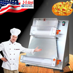 Automatic Pizza Dough Roller Sheeter Cutter Making Machine For 50 500g Dough