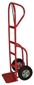 P handle Hand Truck W stair Climber