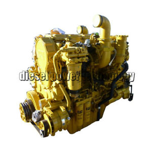 Caterpillar C18 Remanufactured Diesel Engine Long Block Or 7 8 Engine
