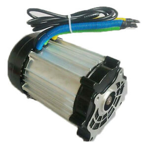 60v 1500w High Power Electric Vehicle Dc Brushless Motor Electric Tricycle Motor