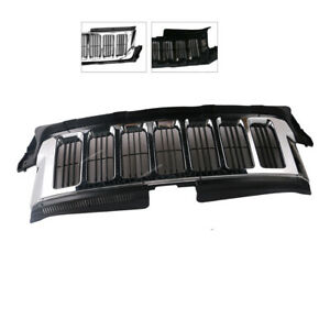 New Front Chrome Grill Grille For 2011 2012 2013 Jeep Grand Cherokee