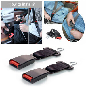 9 Car Seat Seatbelt Safety Extender Clip Extension For Buckles